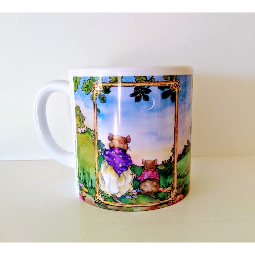 one_summer_evening_plastic_mug_1