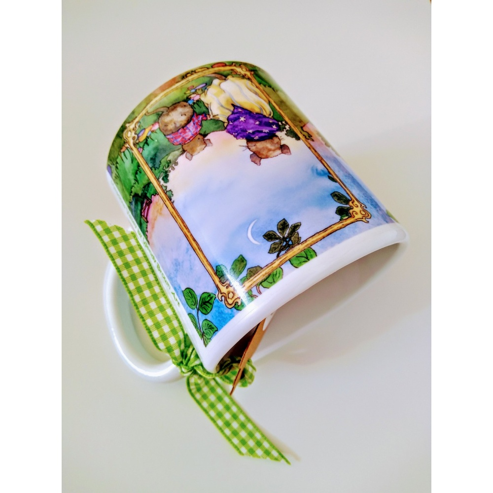one_summer_evening_plastic_mug_on_side